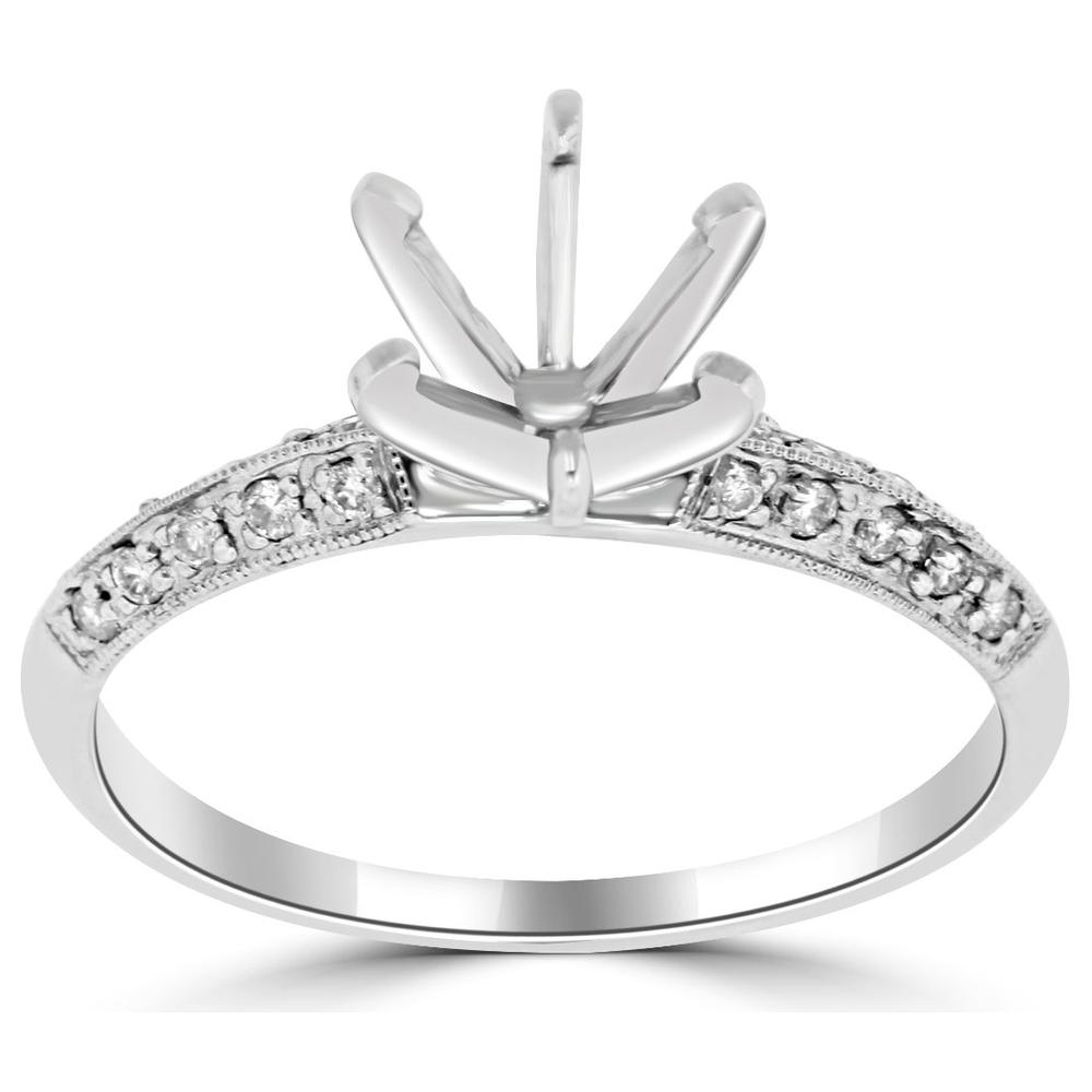 0 14ctw Diamond Engagement Ring