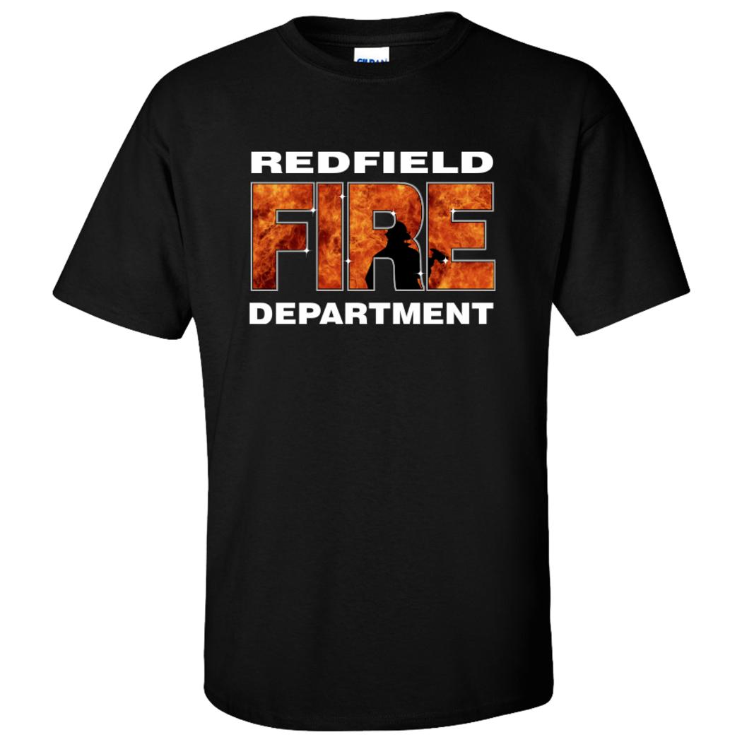 Custom imprint and embroidery custom fire for Custom fire t shirts