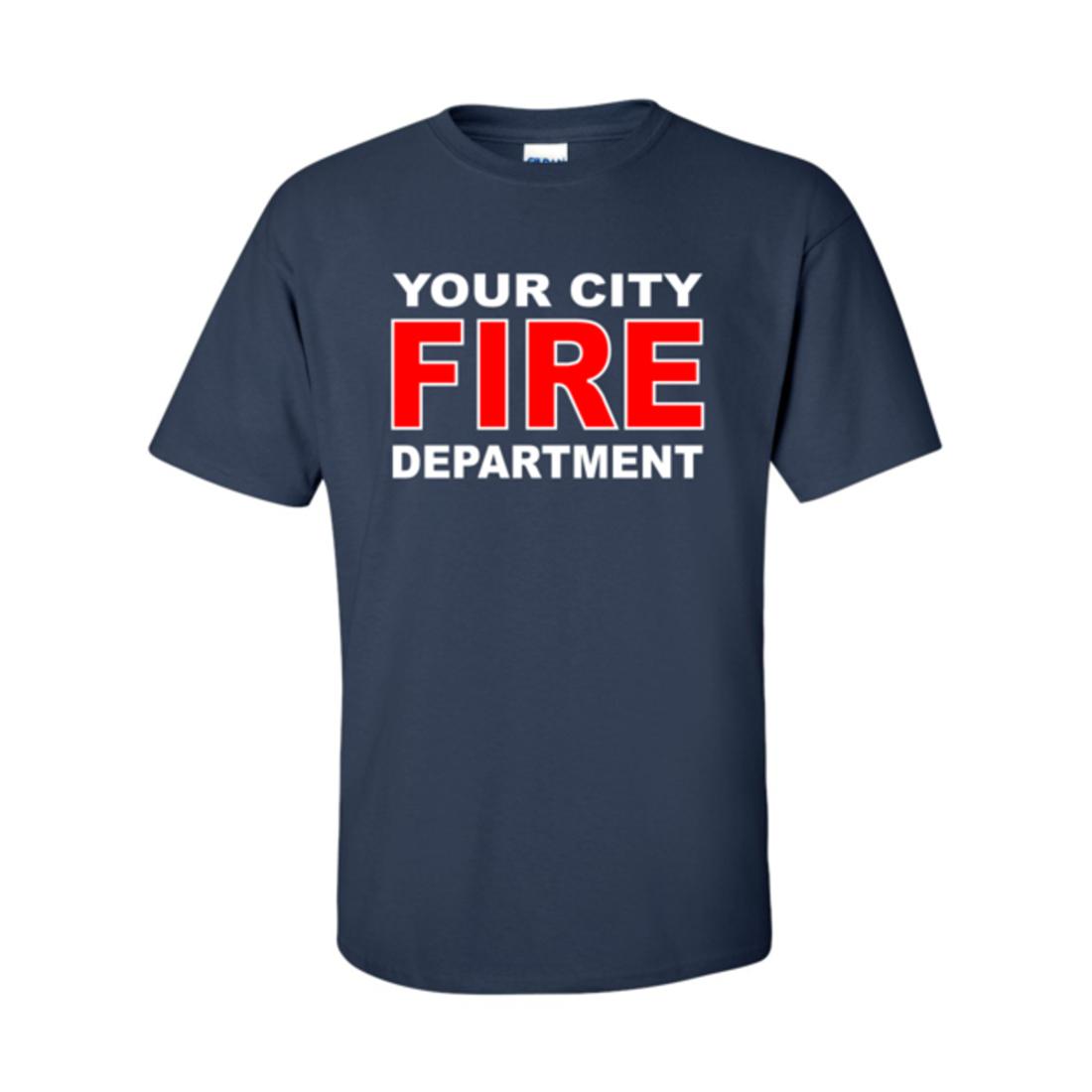 Custom fire department t shirt fire9ts for Fire department tee shirt designs