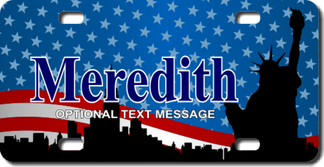 Patriotic License Plates For Cars
