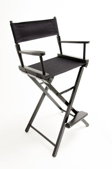 Gold Medal Contemporary 30 inch Bar Height Director Chair Without Imprint
