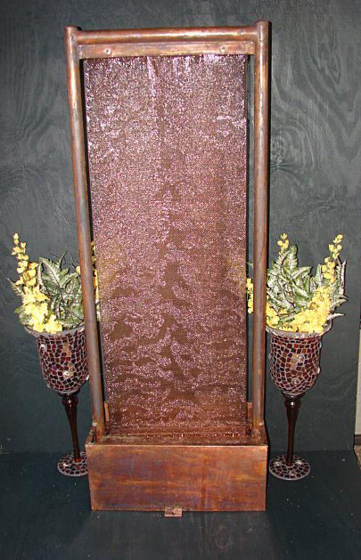 Floor Standing Copper Fountain Decorative Copper Fountain