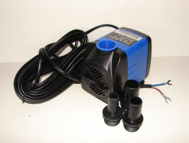 12 volt submersible pond and ornamental fountain pump for Ornamental pond pumps