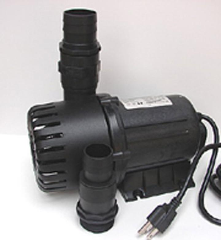 United pg 12000 pond and fountain pump large volume 3100 for Large pond water pump