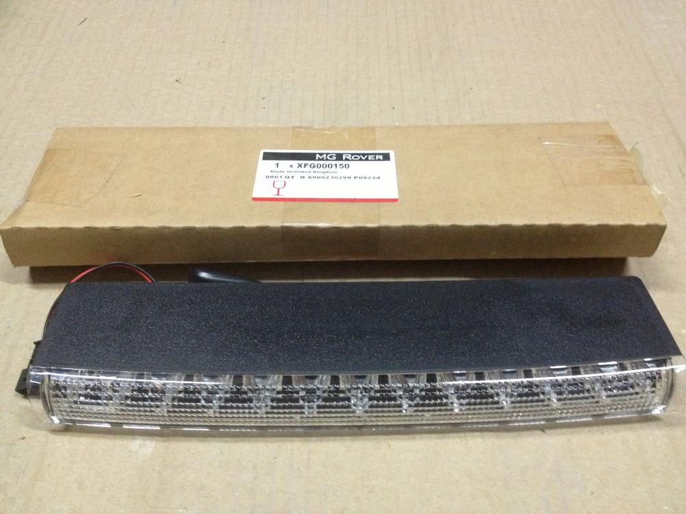 GENUINE MG ROVER 25 ZR HIGH MOUNTED BRAKE LIGHT CLEAR ...