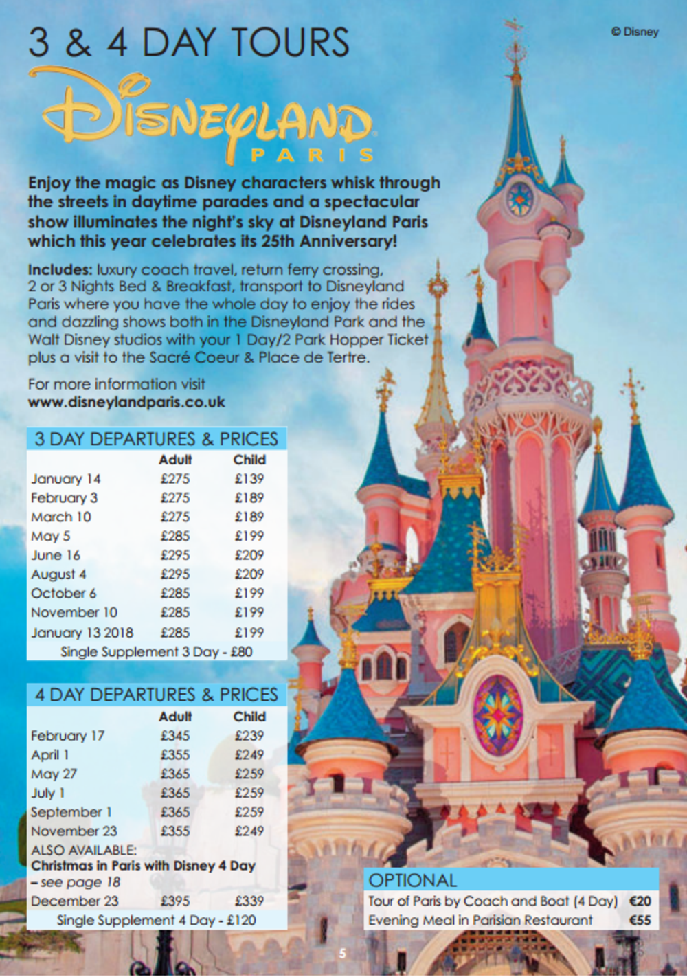 Disney Travel Agent Calendar September