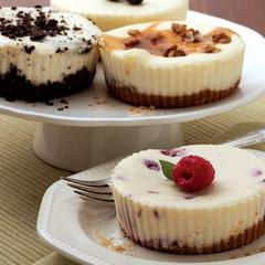 Cheesecake dessert sampler