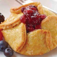 Triple Berry Tartlet Dessert
