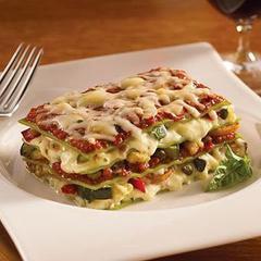 Vegetable Lasagna Meal