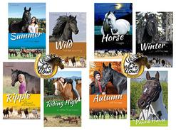 Inspirational horse art book