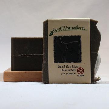 Dead Sea Natural Black Mud Mask Soap Acne