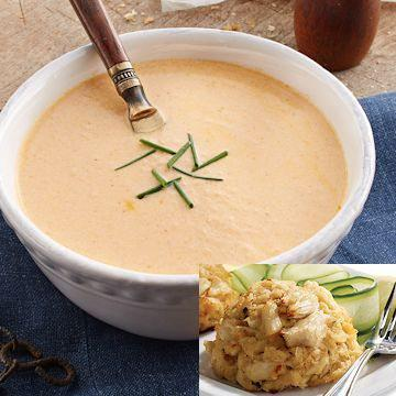 What Soup Pairs Well With Crab Cakes