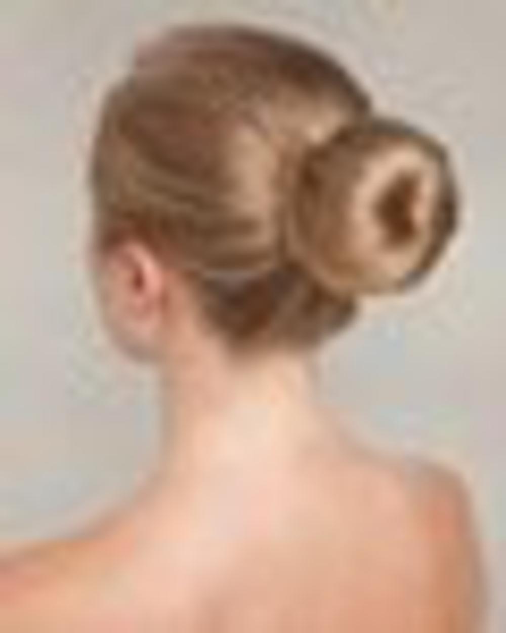 Шишечки на голове прическа фото