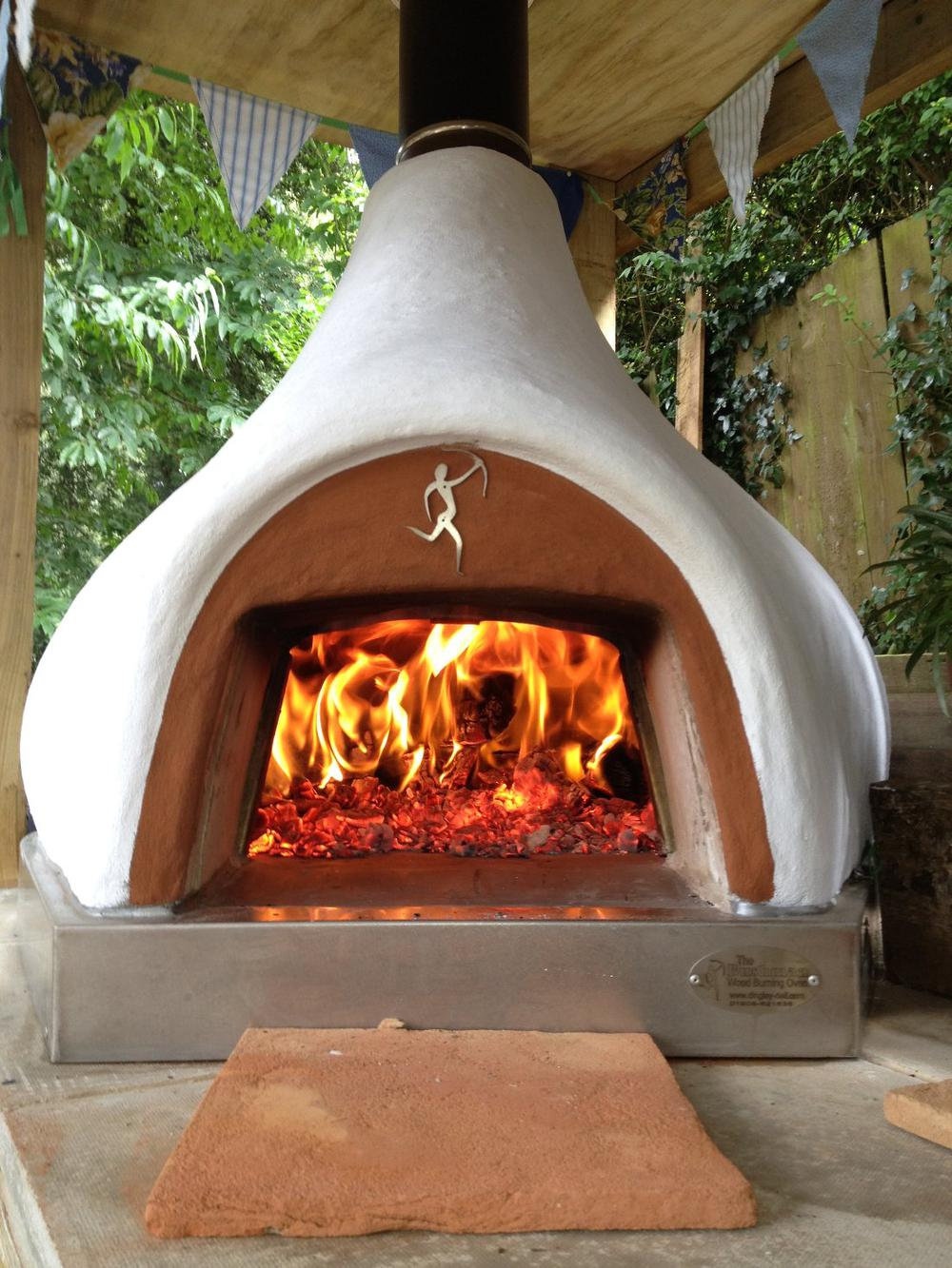 wood fired pizza ovens dome homeschimineas  dingley dell enterprises medium uninsulated
