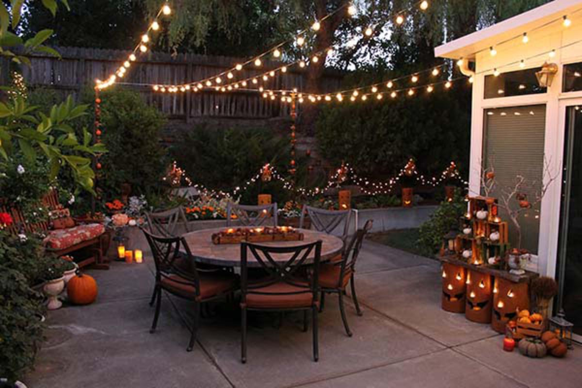 Bring The Fall Season To Your Outdoor Space With These Fun Patio Decorating  Ideas.