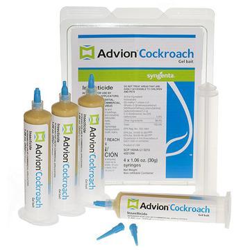 how to use advion cockroach bait gel