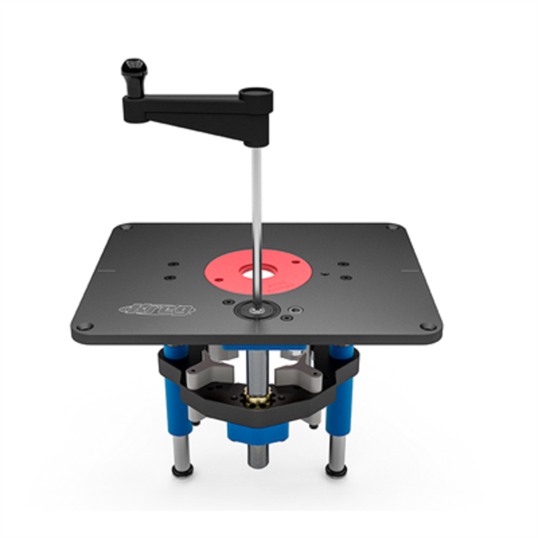 Kreg precision router lift table - Kreg router table accessories ...