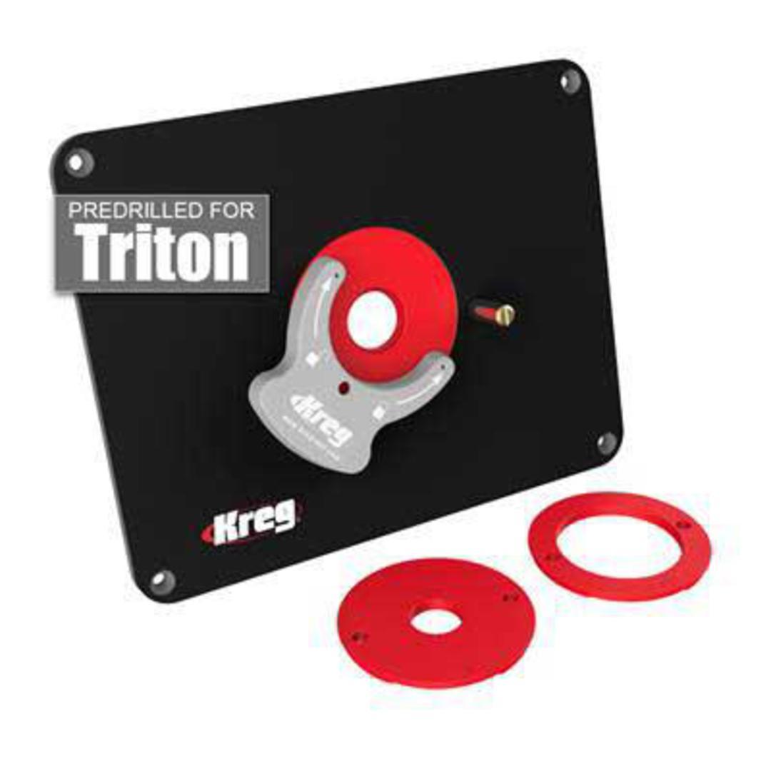 Kreg router table insert plate for triton keyboard keysfo Gallery