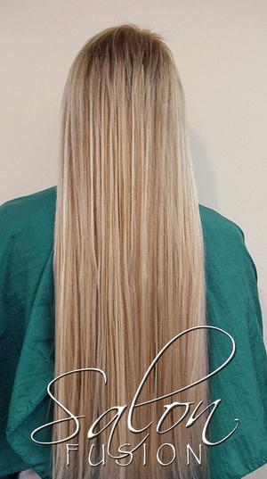Hair extensions salon fusion hair extensions at salon fusion pmusecretfo Choice Image