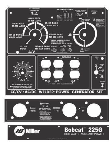 Miller Welding >> Lincoln Welder Control Plates & Decals, Miller Welders Control Plates & Decals, Welding Helmets ...
