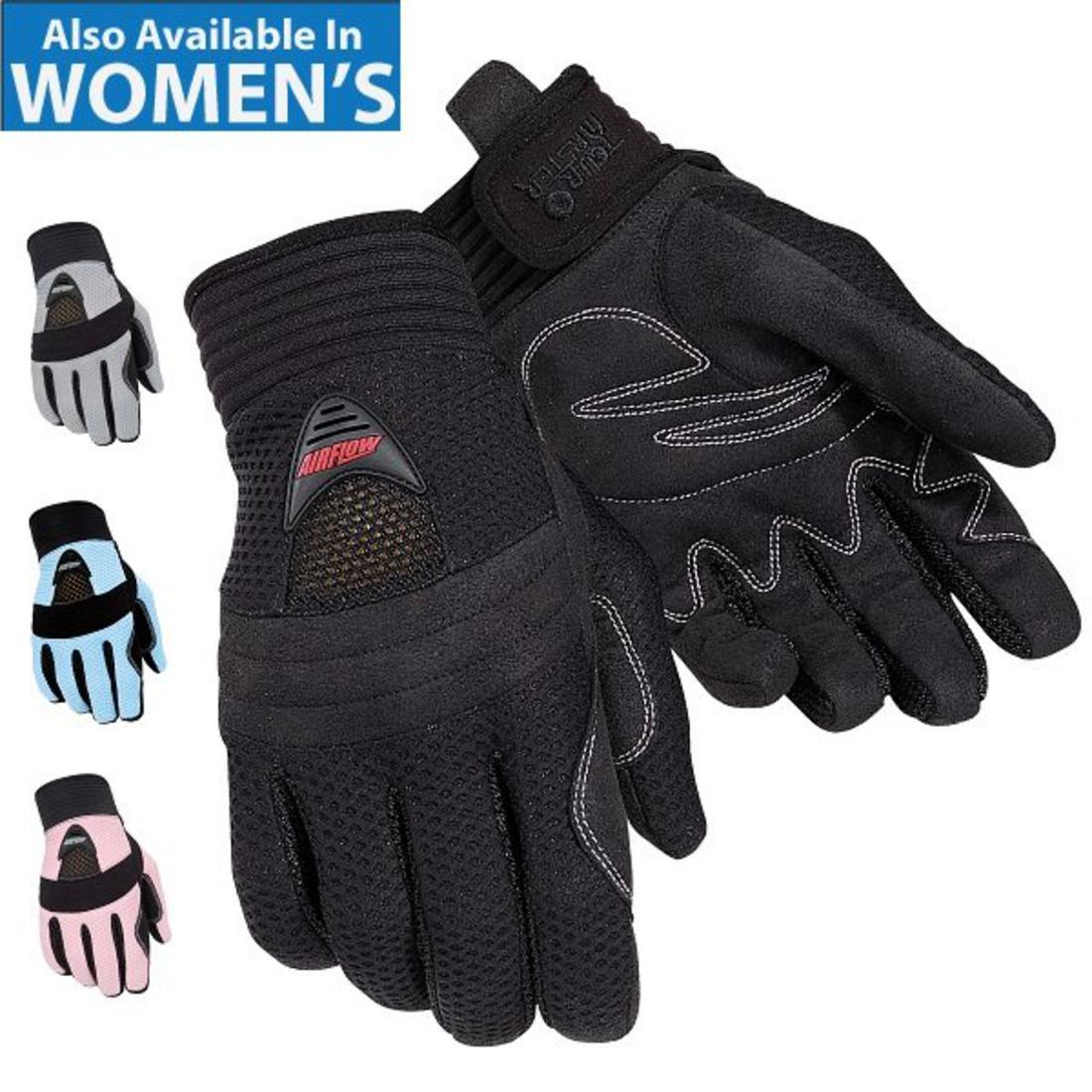 Motorcycle gloves deerskin - Airflow