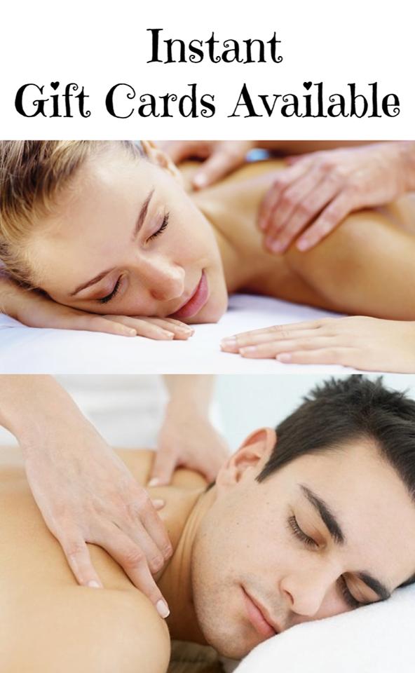 Massage Gift Card Specials