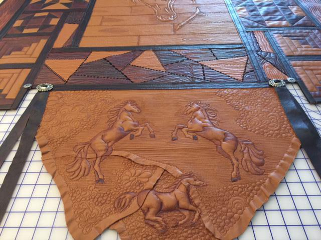 Leather Quilt