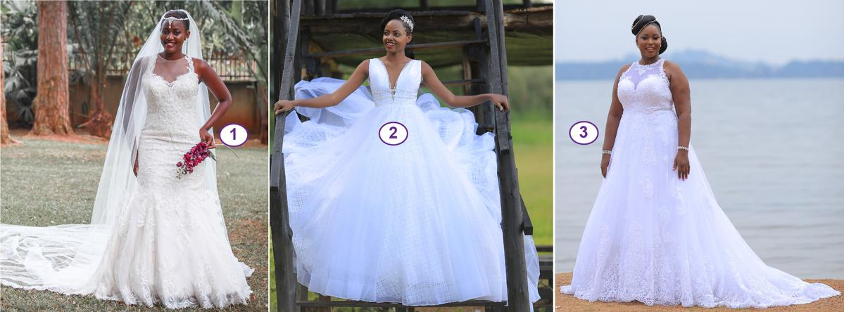 What kind of wedding gown are you looking for?