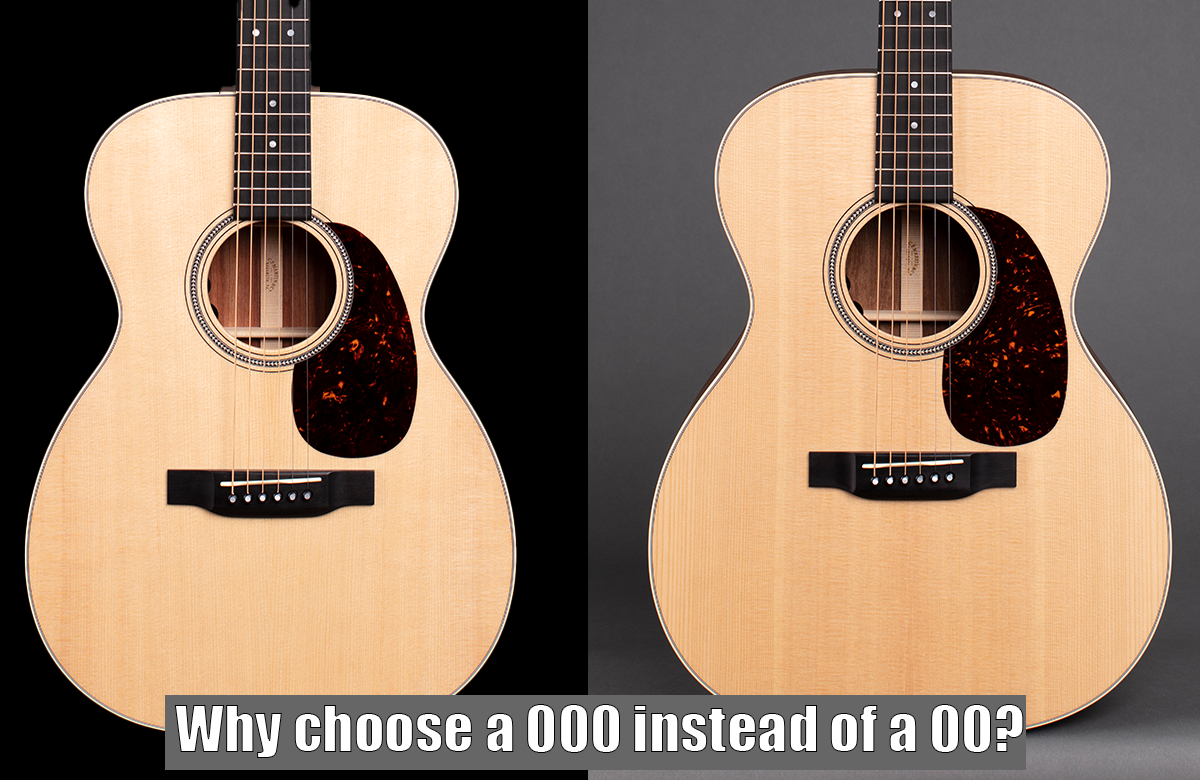 Why choose a 000 instead of a 00?