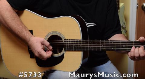 Maury compares 2 Martin D-28 guitars