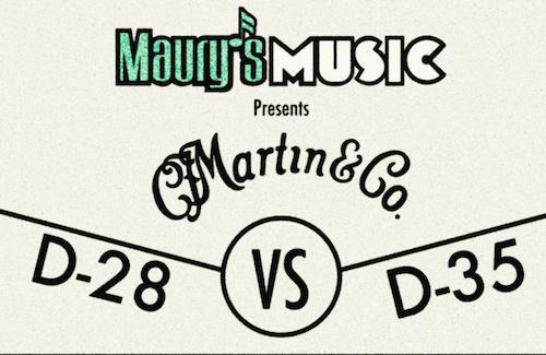 Martin D28 vs Martin D35