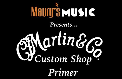 A Custom Shop Primer