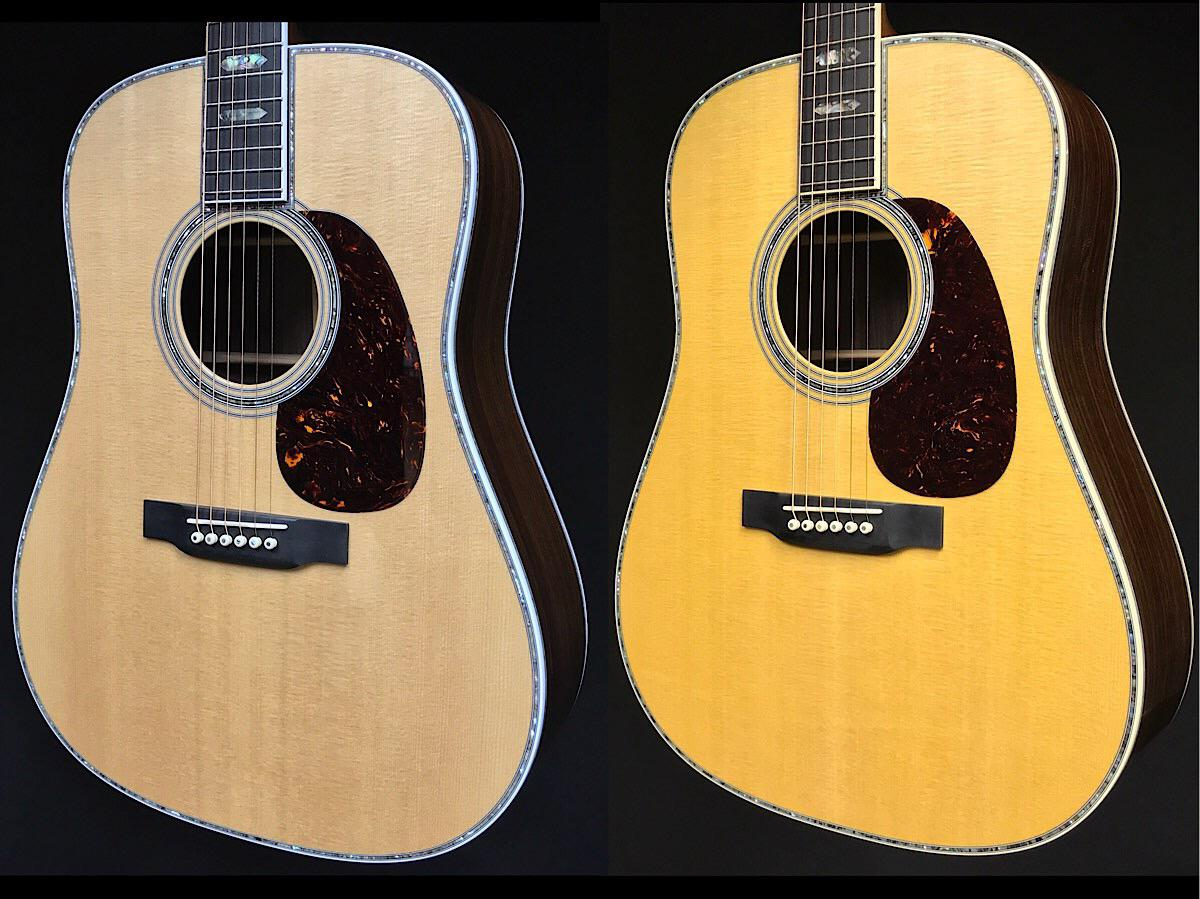 The Martin D-45 vs the Reimagined 2018 D-45