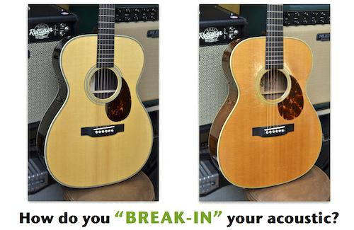 Acoustic Guitar Break-In