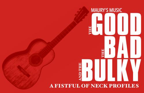 Martin Guitar Neck Profiles