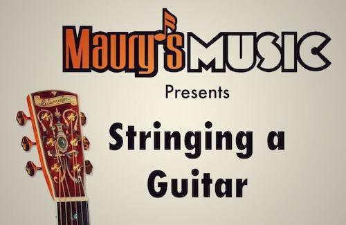 Restringing an Acoustic Guitar