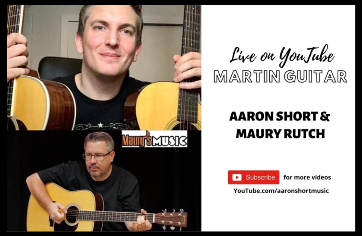 YouTube LIVE with Aaron Short