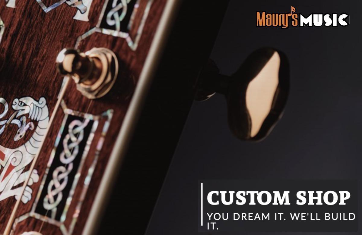 Order the Martin Custom Shop Guitar of Your Dreams - Part 1 - Key Elements
