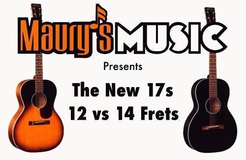 The New 17 Series 00 Guitars