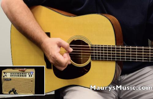 NEW Martin Guitars - Fishman & LR Baggs electronics