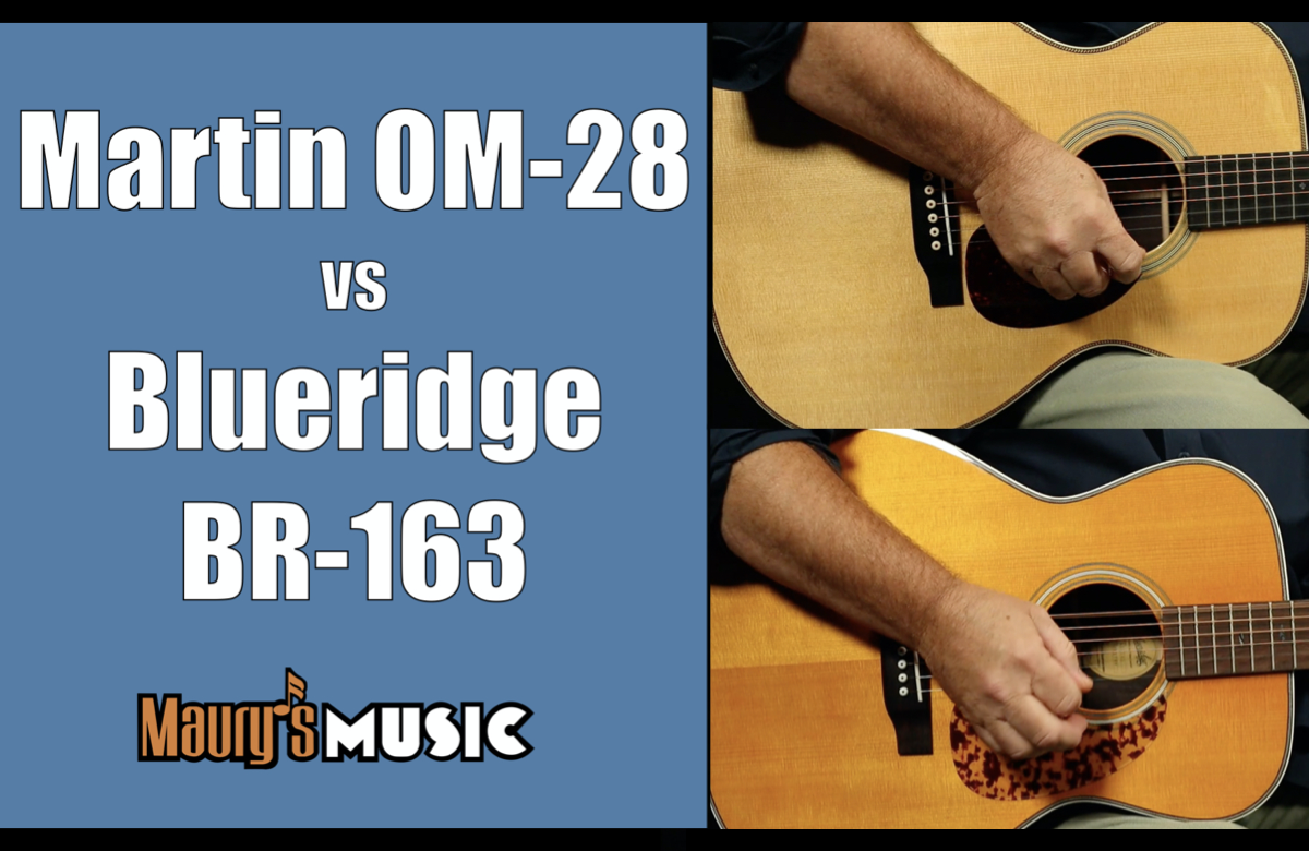 Martin OM-28 vs Blueridge BR-163
