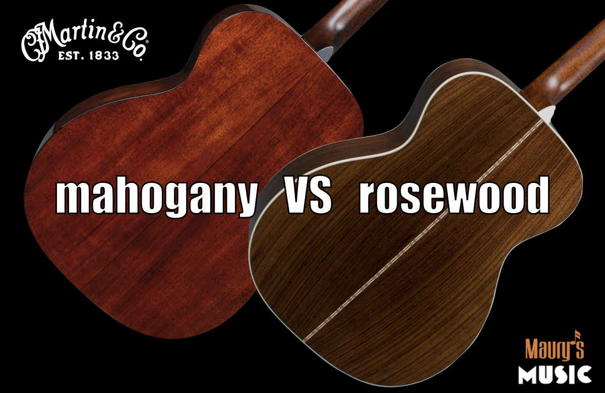 Mahogany vs Rosewood - Which Guitar Tonewood is Better?