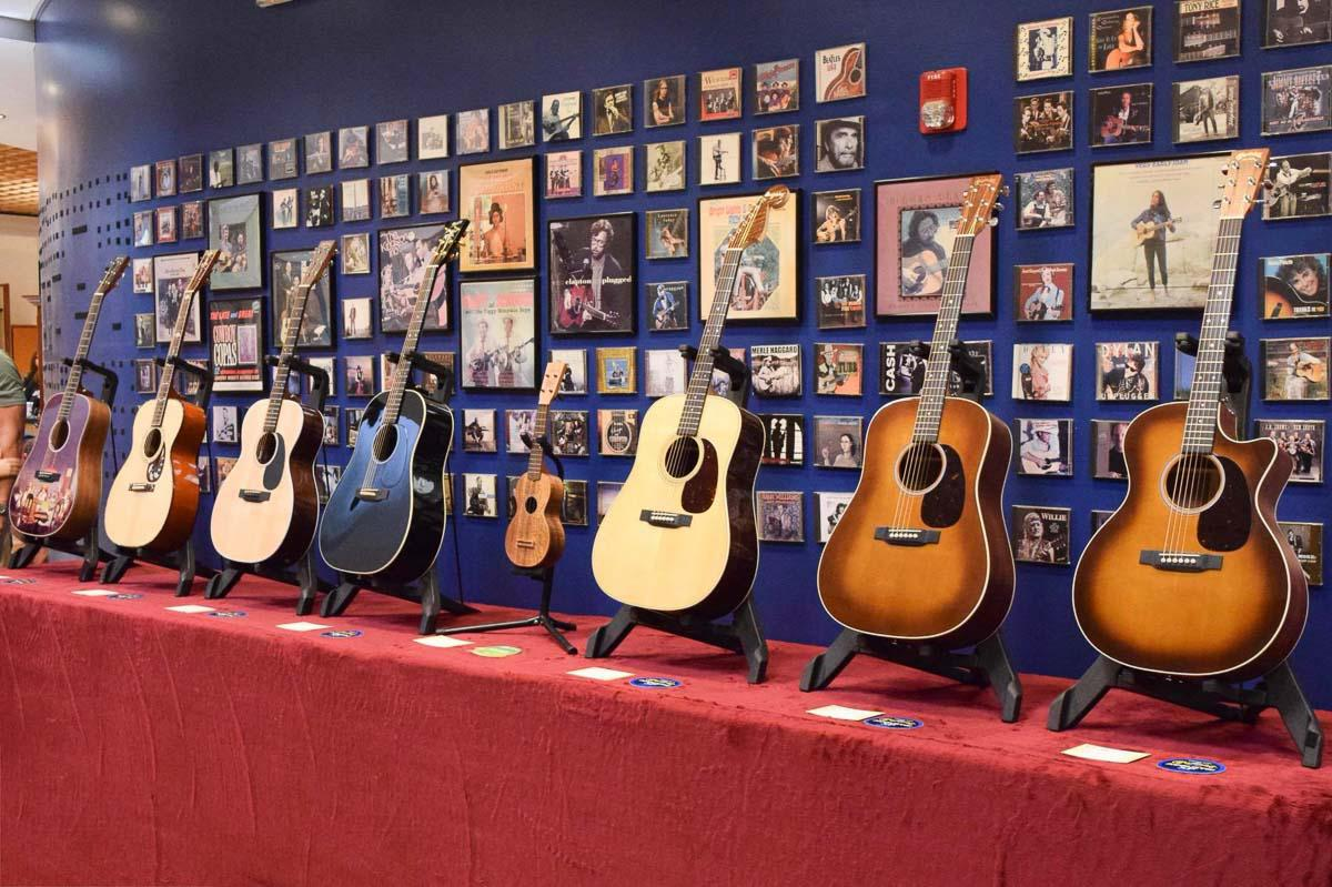 2018 SNAMM Models at Martin Guitar!