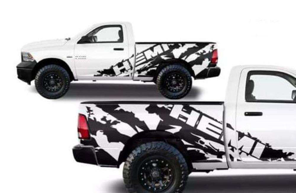 Vinyl Graphics Decals For Trucks