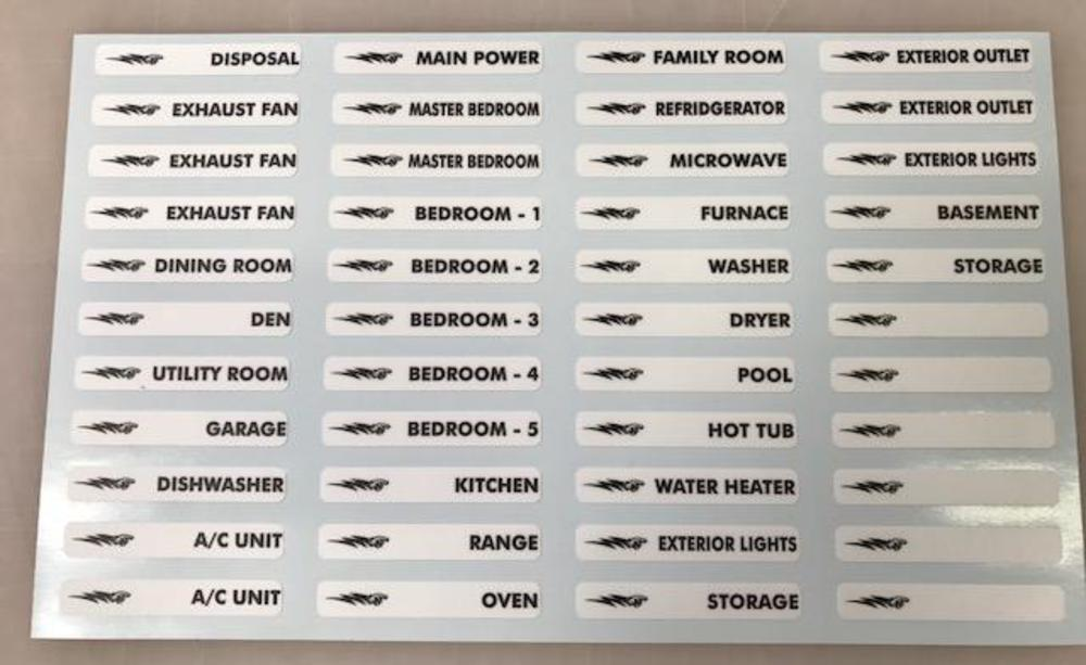 [DIAGRAM_5UK]  The Decal Shoppe -Car Graphics, Truck Graphics, Graphic Decals,Vinyl  Graphics, Muscle Car Stripes, Decals, Signs - Electrical Circuit Breaker  Fuse Box Decals | Breaker Fuse Box Graphic |  | The Decal Shoppe