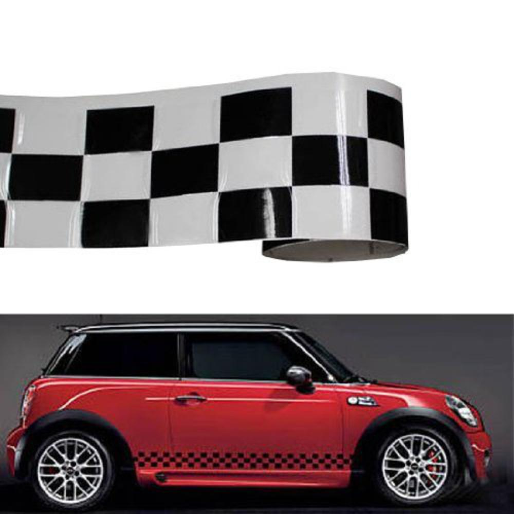 The decal shoppe car graphics truck graphics graphic decalsvinyl graphics muscle car stripes decals signs black checkered pattern vinyl stickers