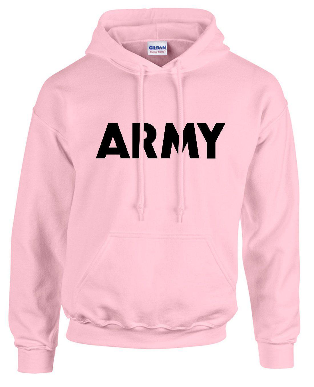 us army hoodie pullover black hooded sweatshirt
