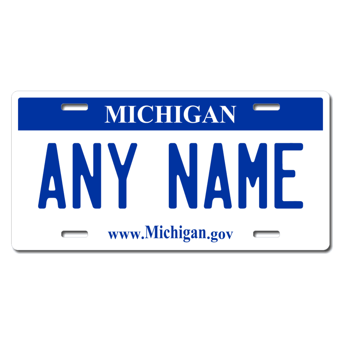 Kid/'s Bikes /& Cars Ver 3 Personalized Michigan License Plate for Bicycles