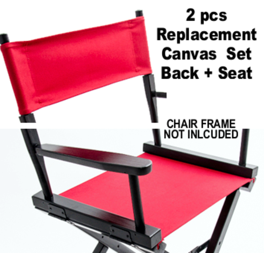Gold Medal Director Chair Replacement Canvas Set (Chair Not Included)    Teamlogo.com | Custom Imprint And Embroidery