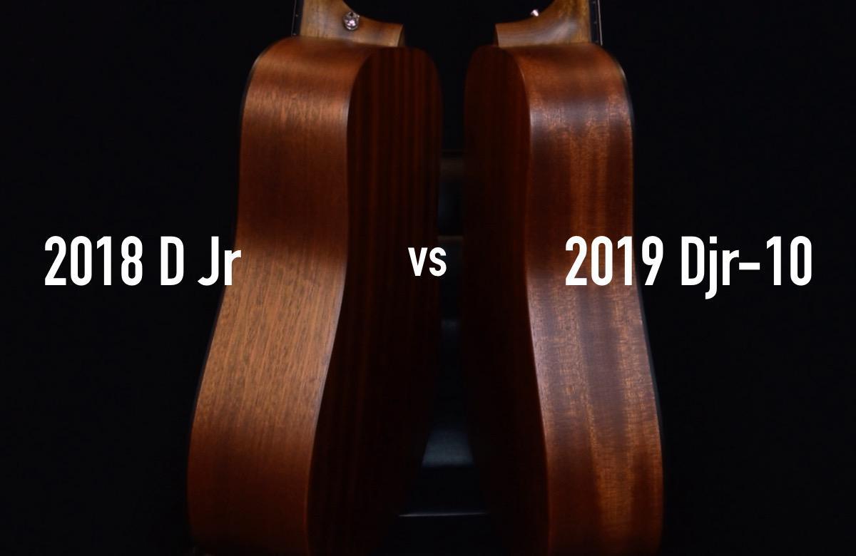 2018 Martin D Jr vs 2019 DJr-10